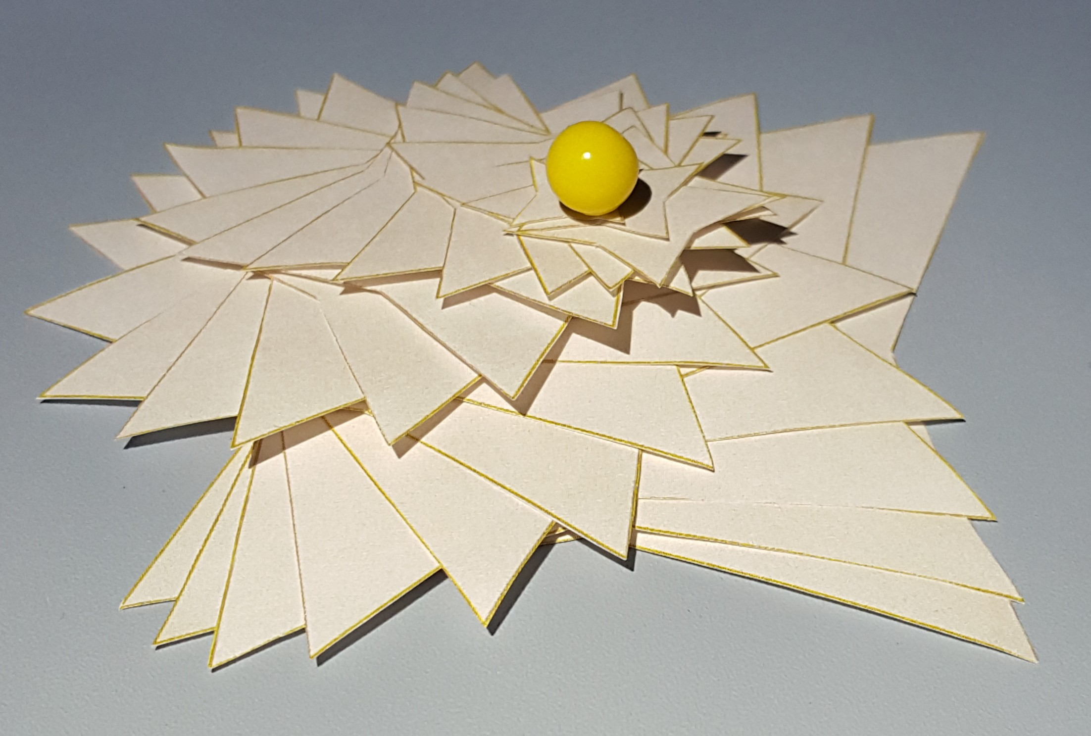 Math Monday: Geometric Paper Flowers