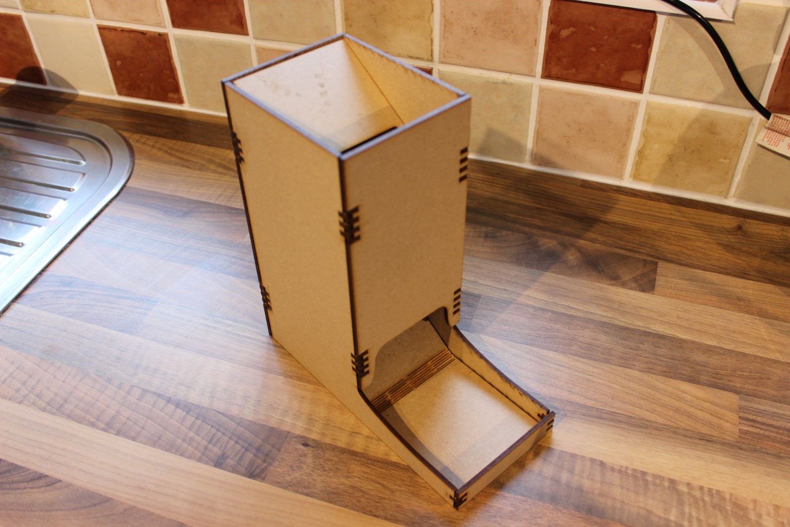 Building Your Own Dice Tower