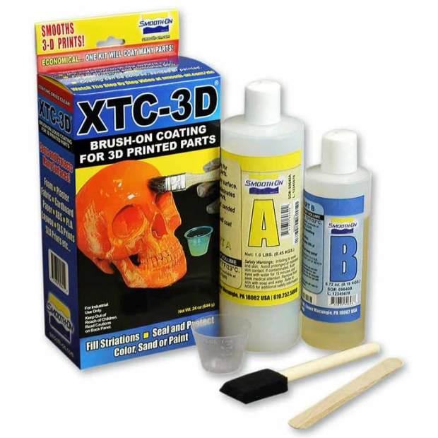 XTC-3D brush on coating parts