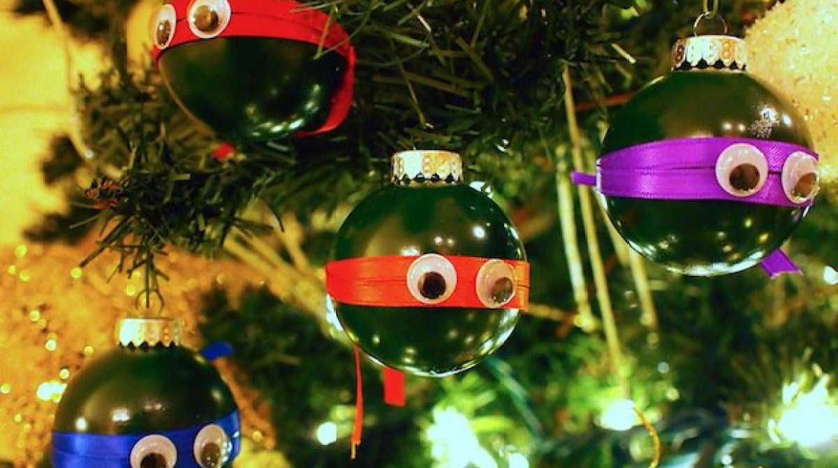 Ninja Turtle Christmas Tree.10 Of Our Favorite Diy Tree Ornament Projects Make