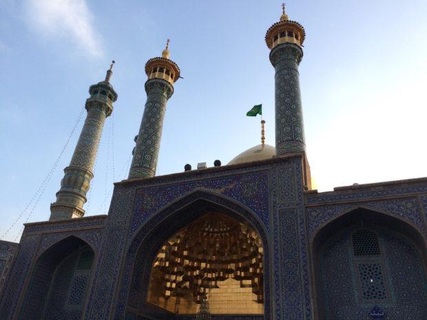 fatimah-masoumeh-shrine-gold