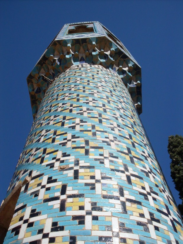shah-nematollah-vali-shrine-kerman-minuret
