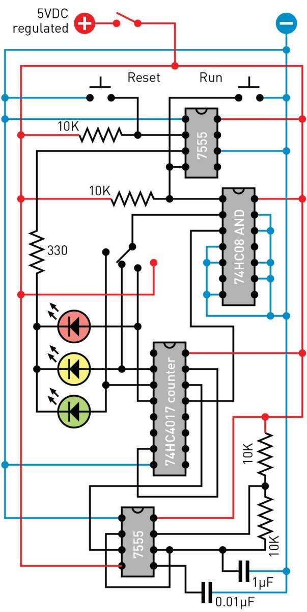 Figure B. Schematic layout suitable for breadboarding.