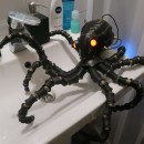 Building a Sci-Fi Cyber Octopus for 80's Style Practical Effects