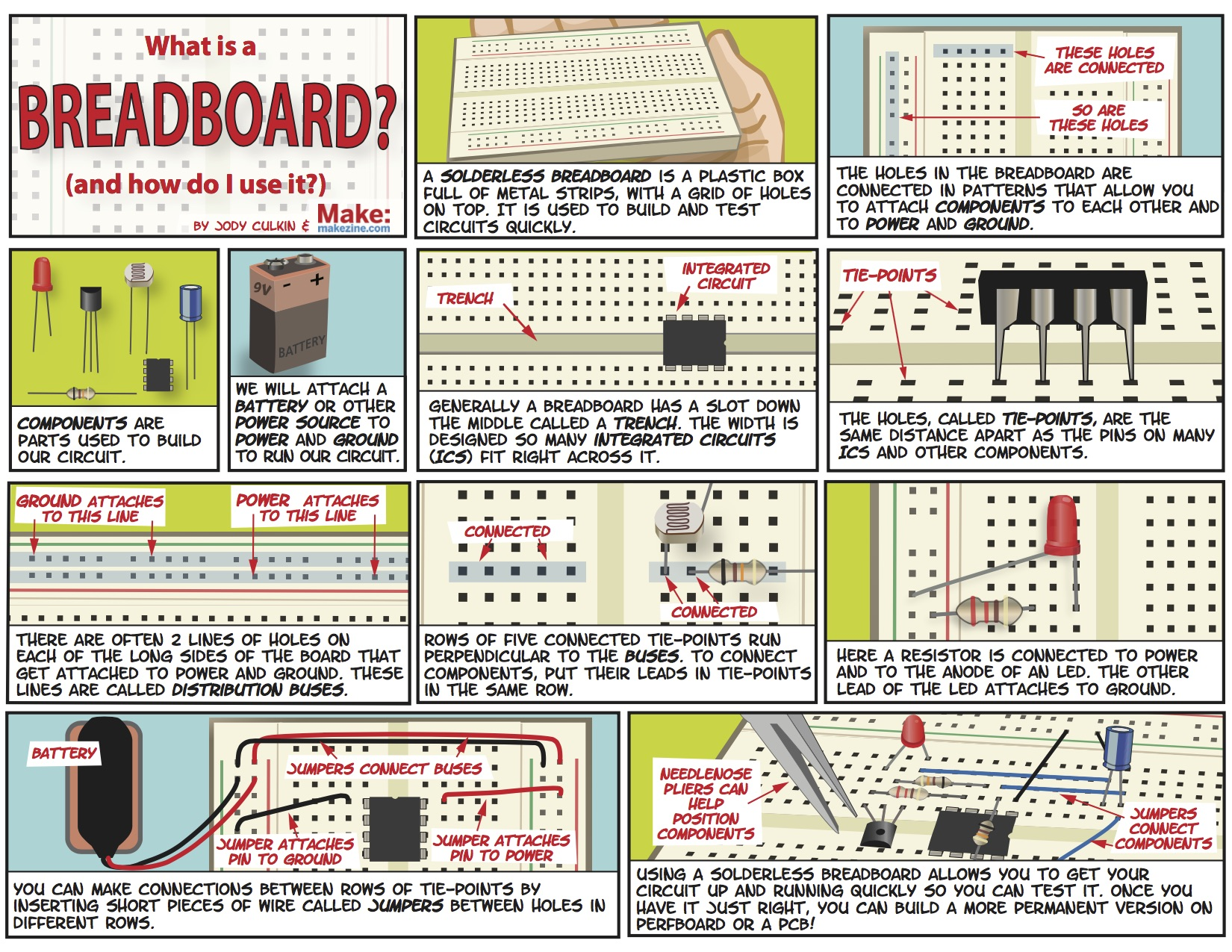 5 Breadboarding Quick Tips Make Building A Circuit On Breadboard Click The Image To Enlarge