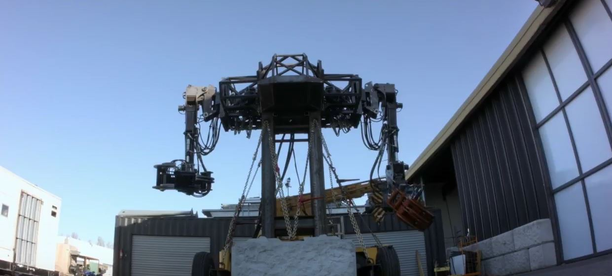 Watch MegaBot Pick Up a Car Like It Is a Toy