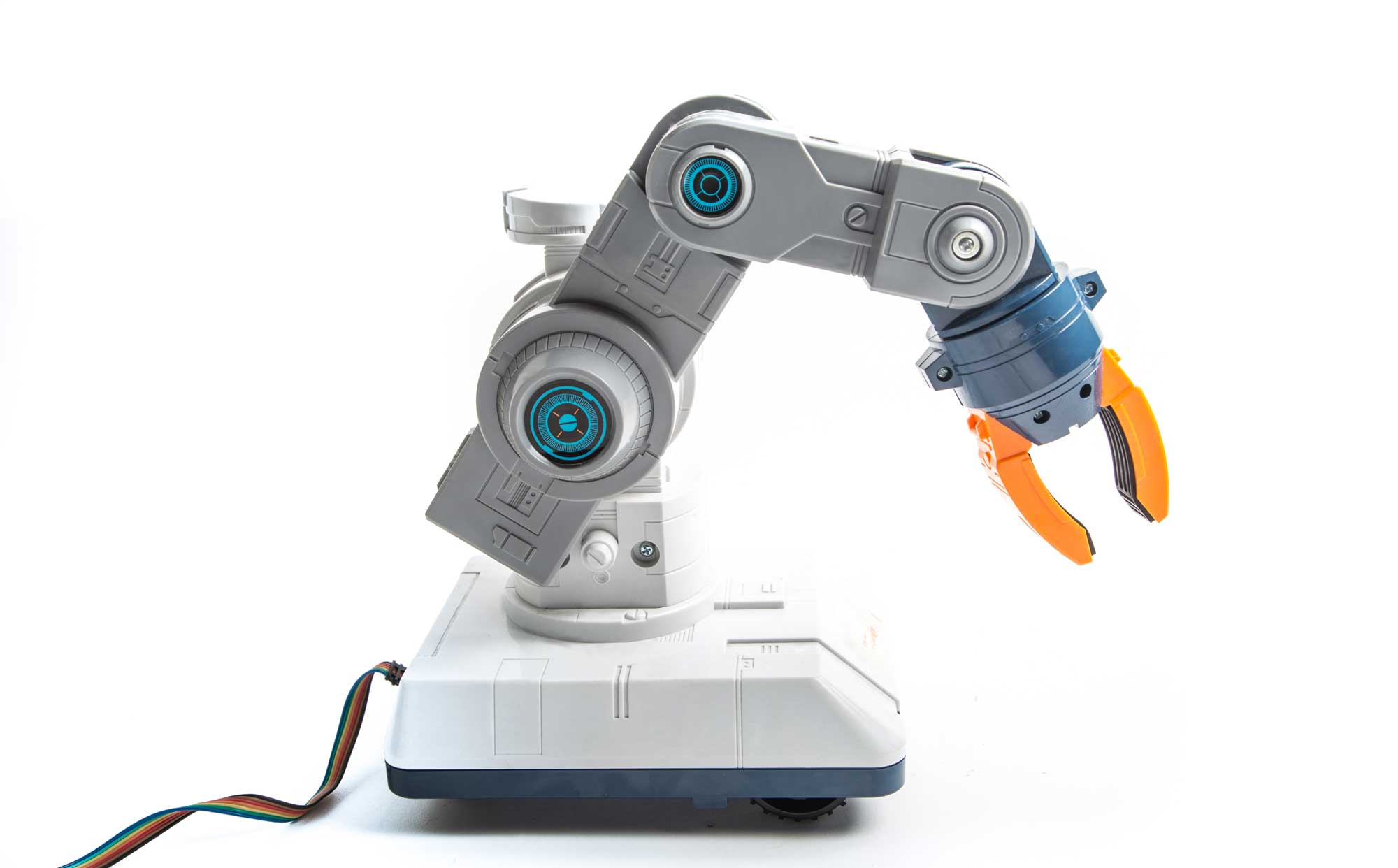 Program with Robot Operating System for Smooth Servo Movement