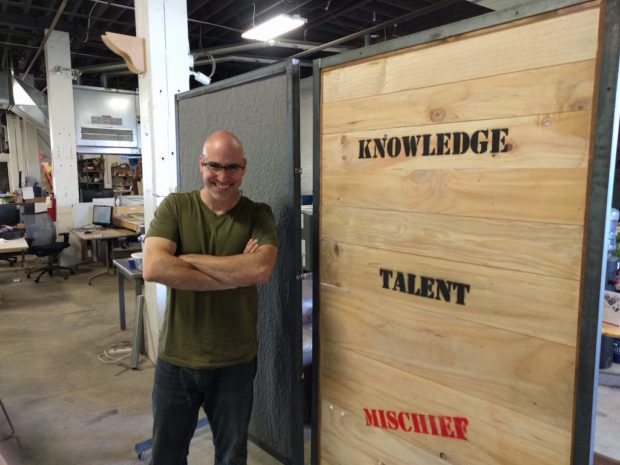Alex Bandar is Director of the Columbus Idea Factory, a makerspace and creative workspace in Columbus, Ohio that expanded through local funding.