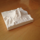 3D Printing Topographical Maps from Space Shuttle Data