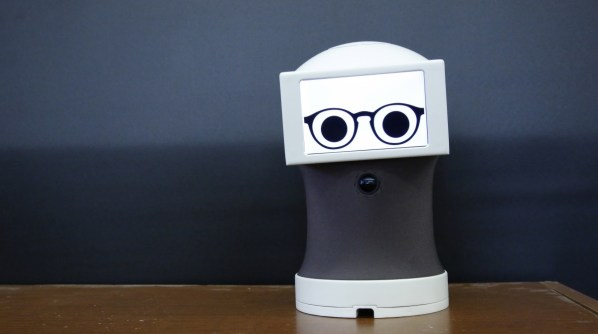 robotic assistant communicates using animated GIFs