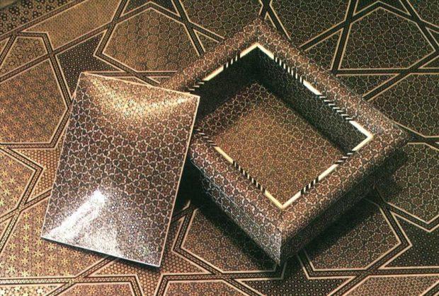 khatam-box-and-table