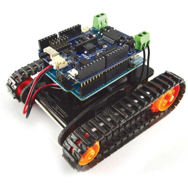 RobotShop — Tracked Tank Kit