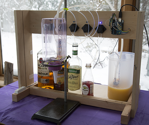 Build A Simple Cocktail Drinkbot With Arduino