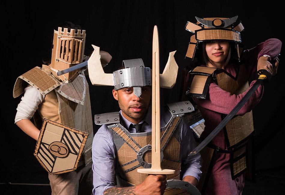 "The Making of Cardboard Knight at Bindlestiff Studio's ""The Geek Show"""