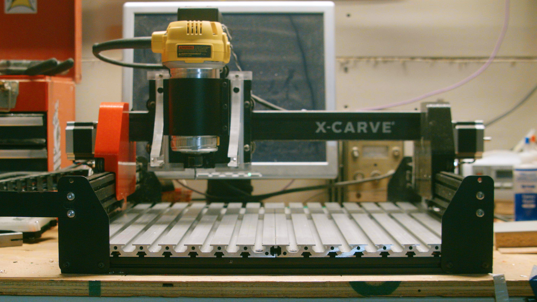 Add A T Slot Bed To Your X Carve For Easy Rigid