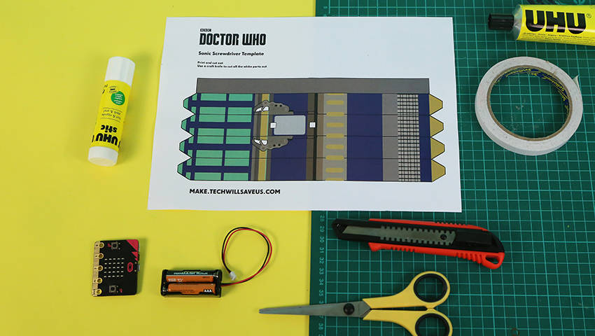 This Week in Making: Doctor Who Sonic Screwdriver, Mad Max Mobiles, and Double Action Keyboard
