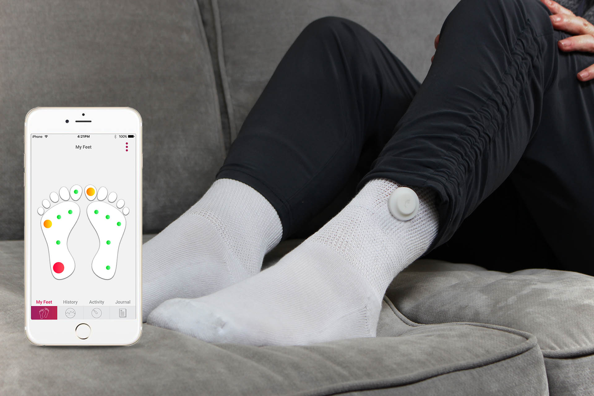 Siren Care's Smart Socks Help Monitor the Health of People with Diabetes