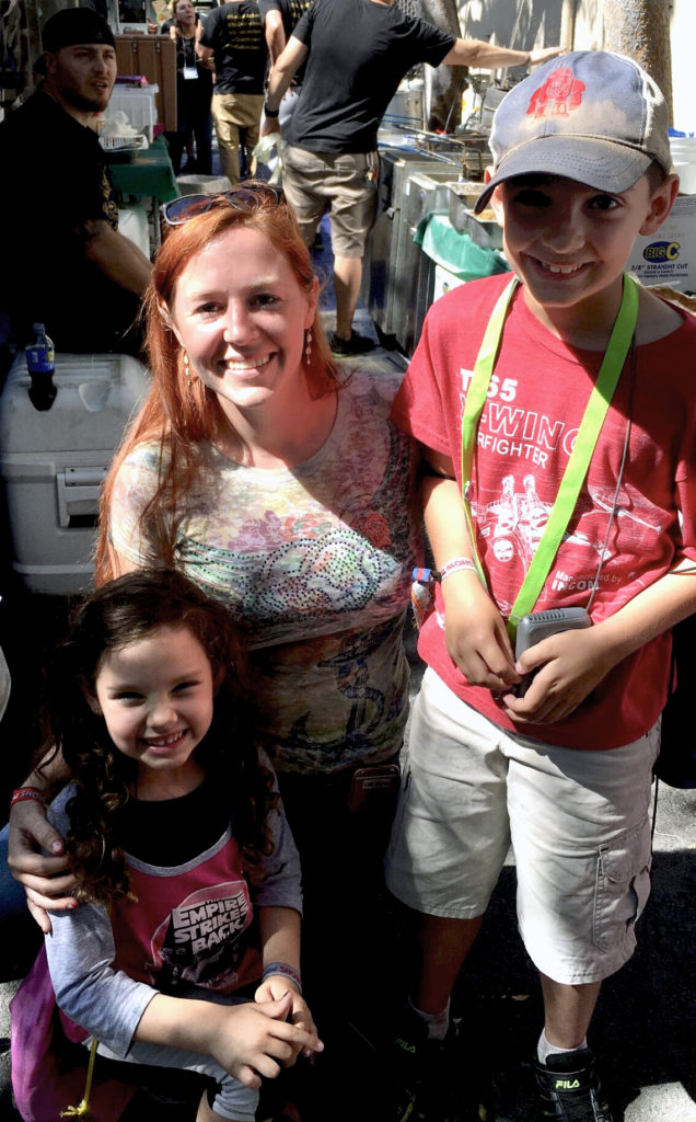 Kids Meet April Wilkerson