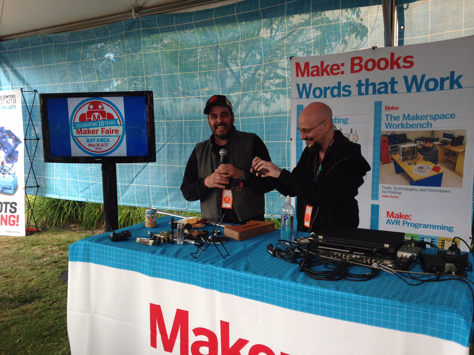 Celebrating Maker Faire Bay Area with Humble Bundle and Make: Books