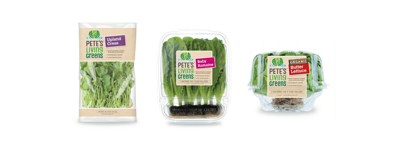 Edible Innovations: Pete's Living Greens Is Packaged Produce That's Still Growing