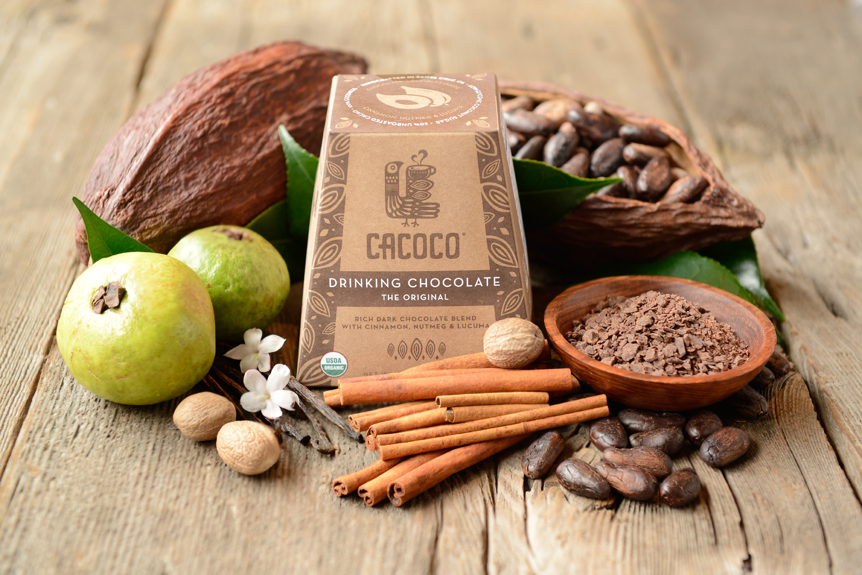 Edible Innovations: Cacoco Is Sustainable Drinking Chocolate with Biodegradable Packaging