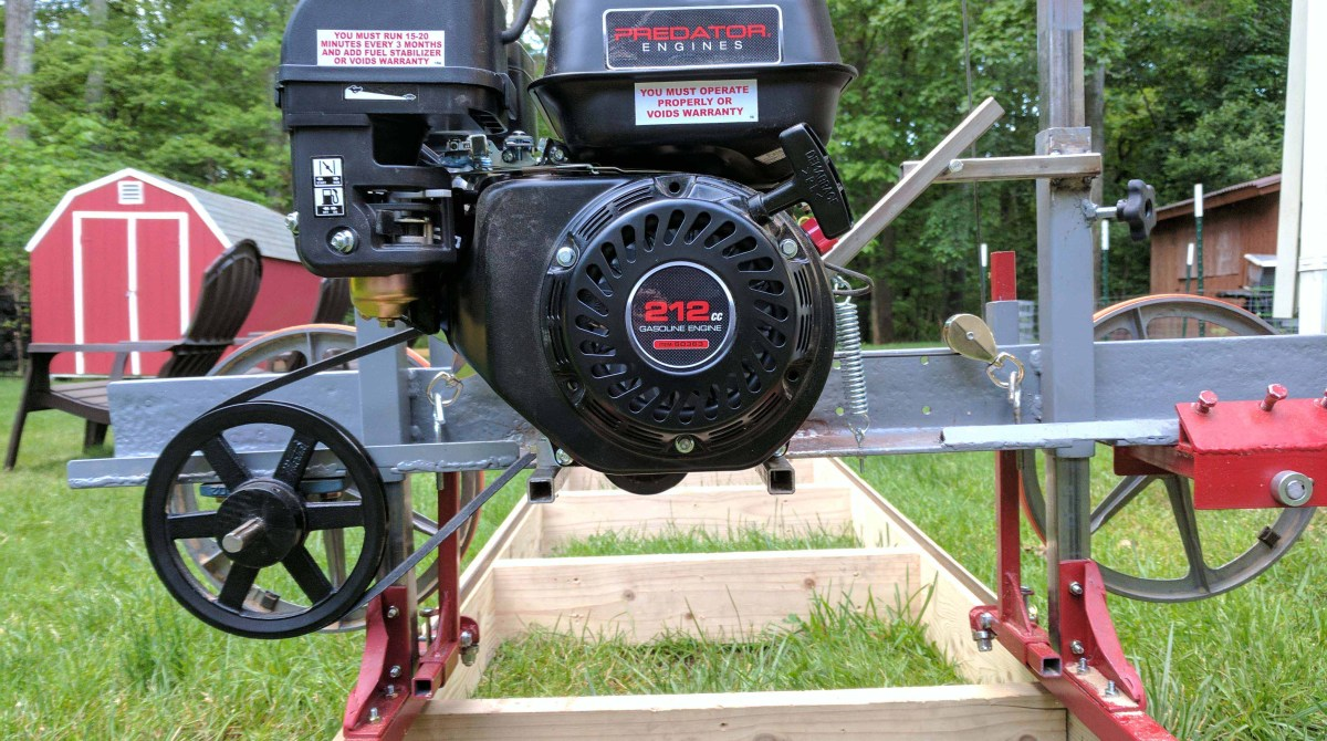 How I Built a Sawmill in the Backyard | Make: