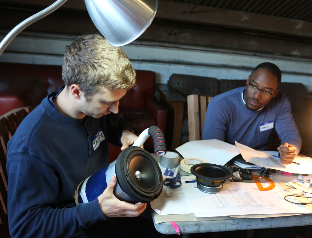 Bayview Boom Teaches Teens How to Build Their Own Boombox