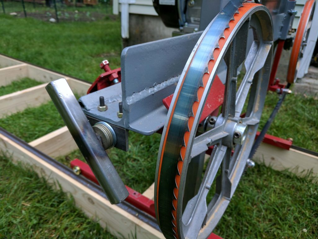 Saw Mill For Sale >> How I Built A Sawmill In The Backyard Make