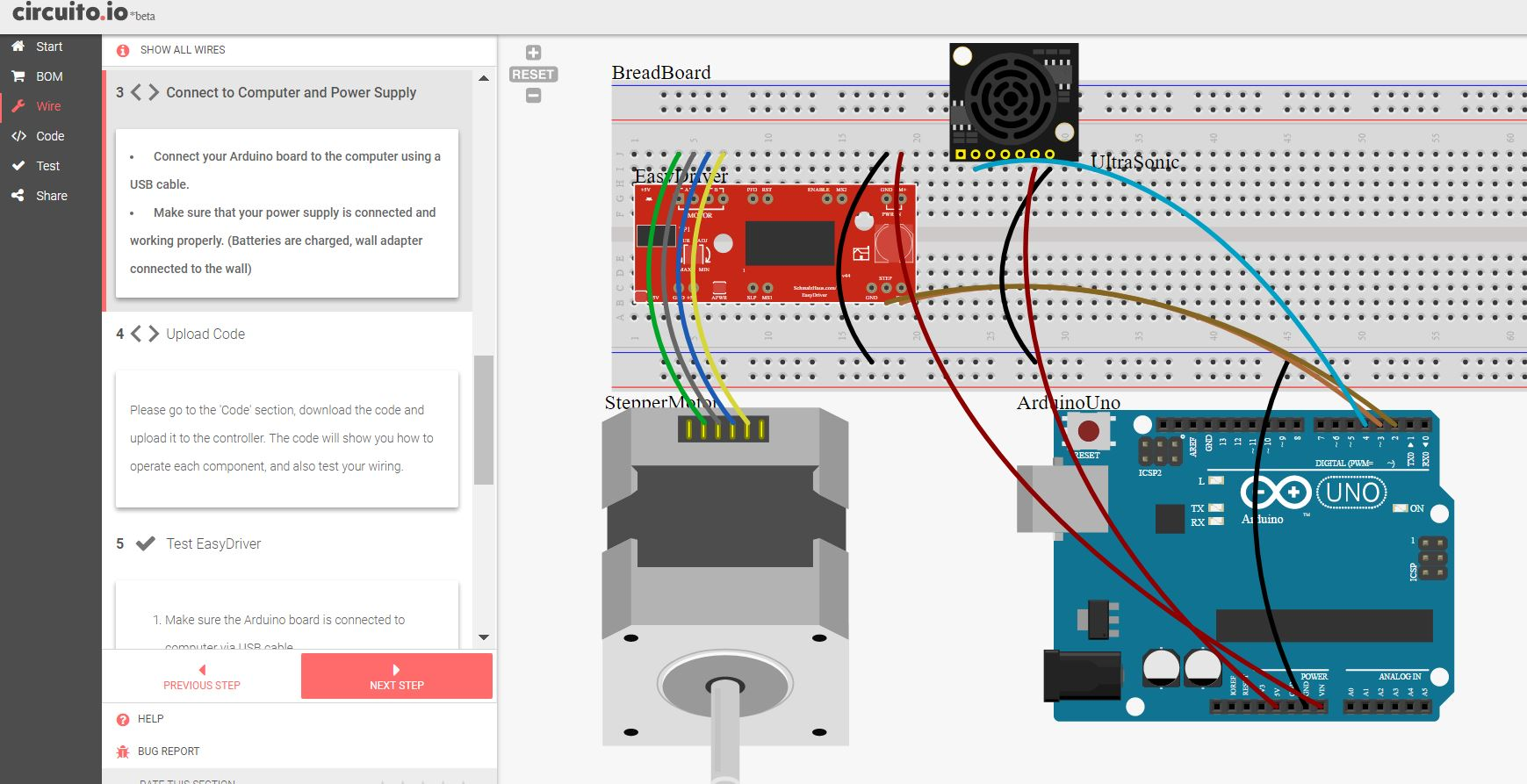 Circuito Io : Circuito helps beginners assemble electronic projects make