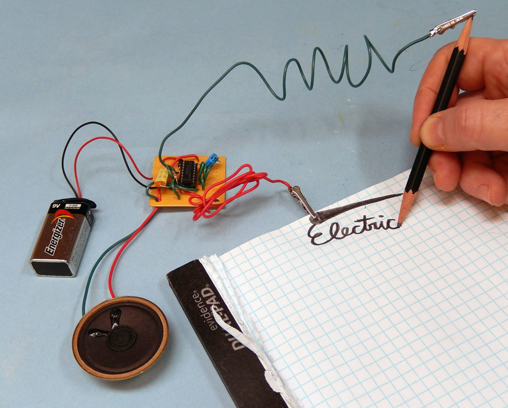 Draw Electronic Circuit