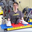Building a Rideable Lego Skateboard