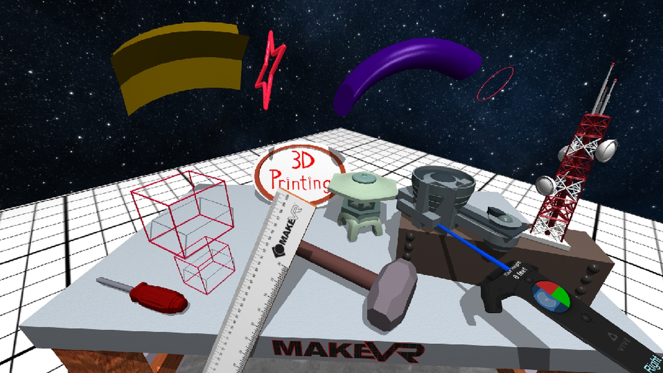 Ready Maker One! MakeVR Pro Adds Precision 3D Modeling Tools | Make:
