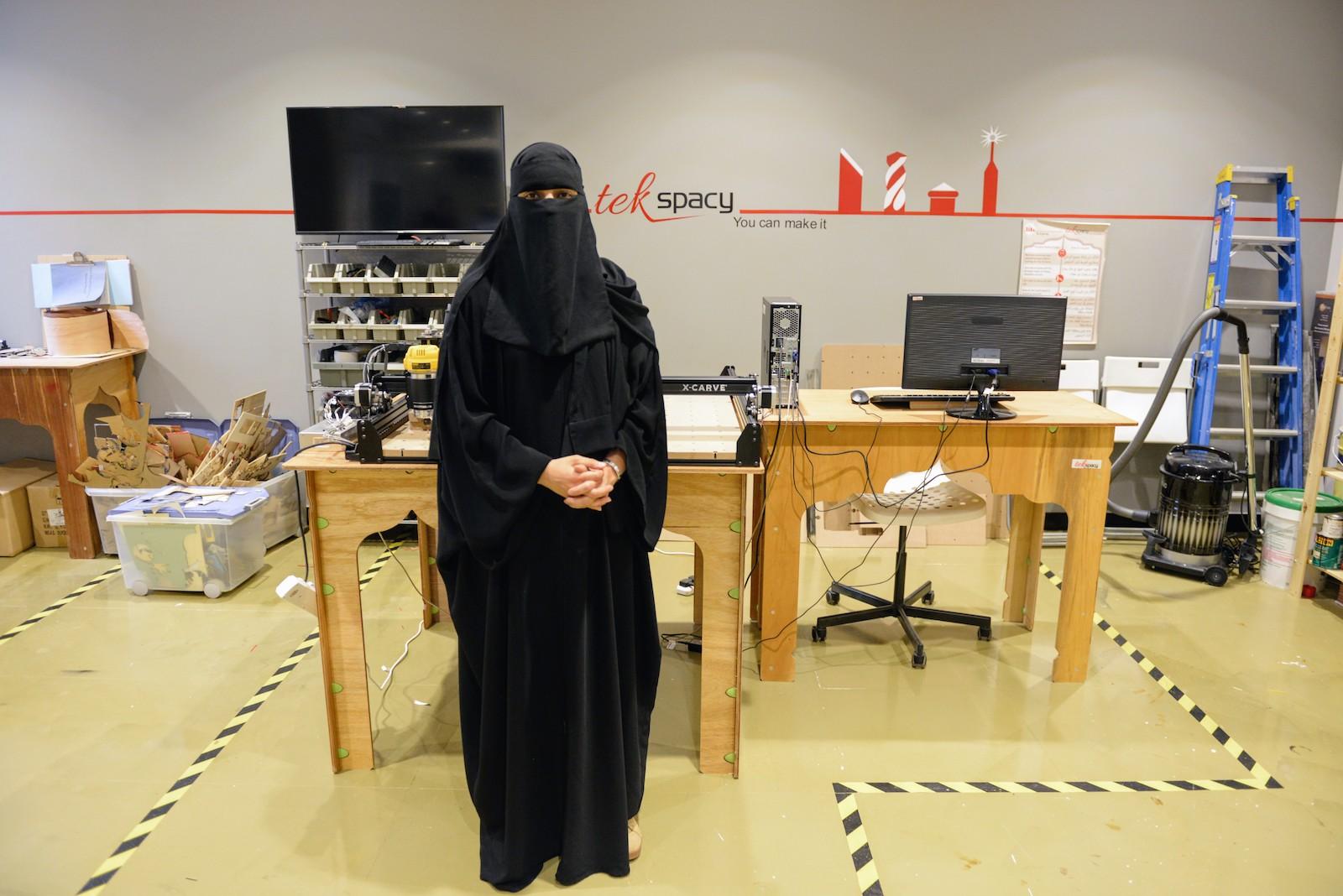 Take a Tour of TekSpacy, Riyadh's Women-Only Maker Space