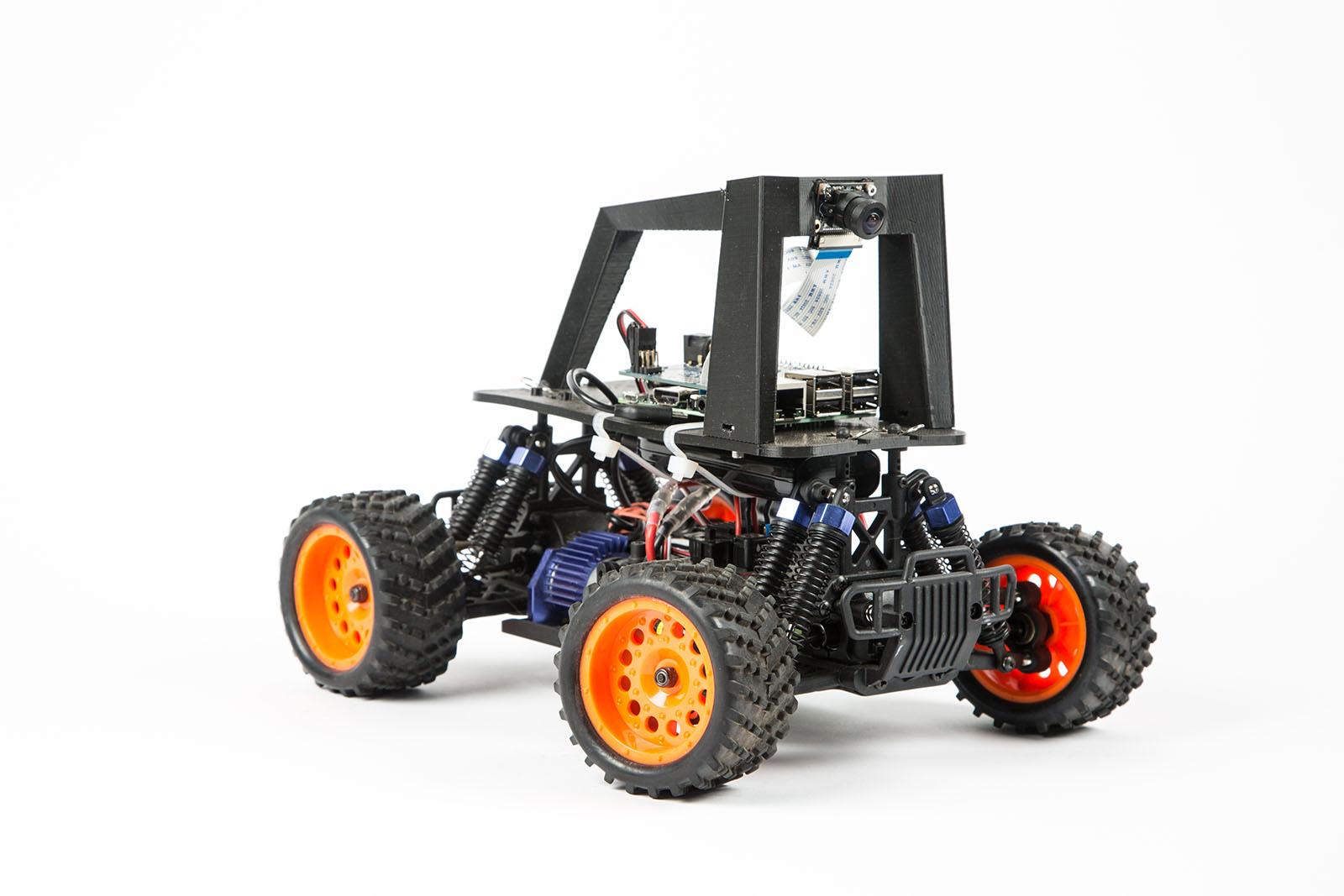 Build An Autonomous R C Car With Raspberry Pi Make Rc Starter Box Wiring Diagram
