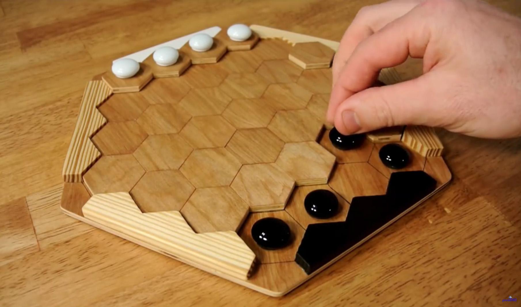 CNC Cut This Open Source Hexagonal Board Game