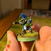 One of Blake's Blood Bowl goblins.