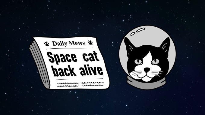 Kickstarting A Statue To Honor The One and Only Space Cat
