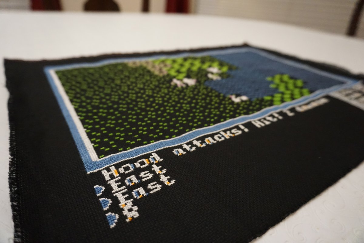 This Cross Stitch Is the Ultimate Ultima Homage