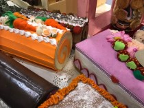 jewelry boxes as cake