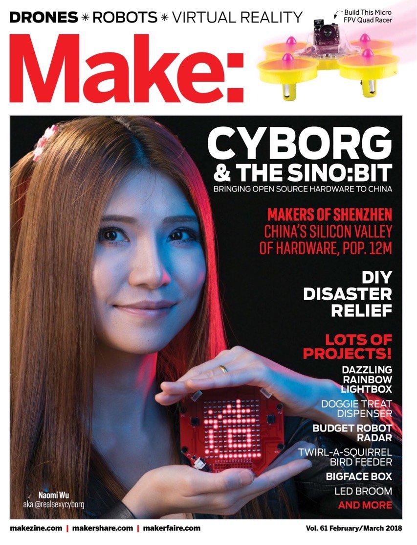 Announcing Make Vol. 61: Spotlight Shenzhen