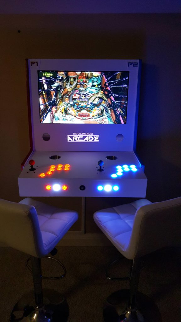 This Fancy Transforming Arcade Cabinet Uses Steam Link | Make: