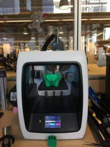 Robo 3D printer at work