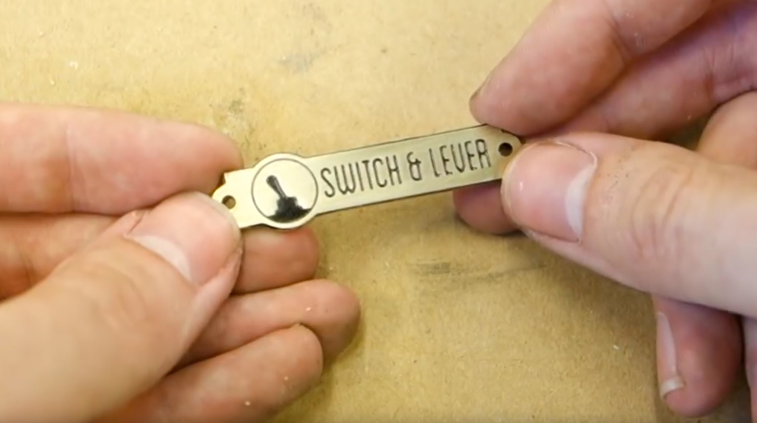 Etching Brass Plaques