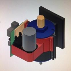 Parts modeled together