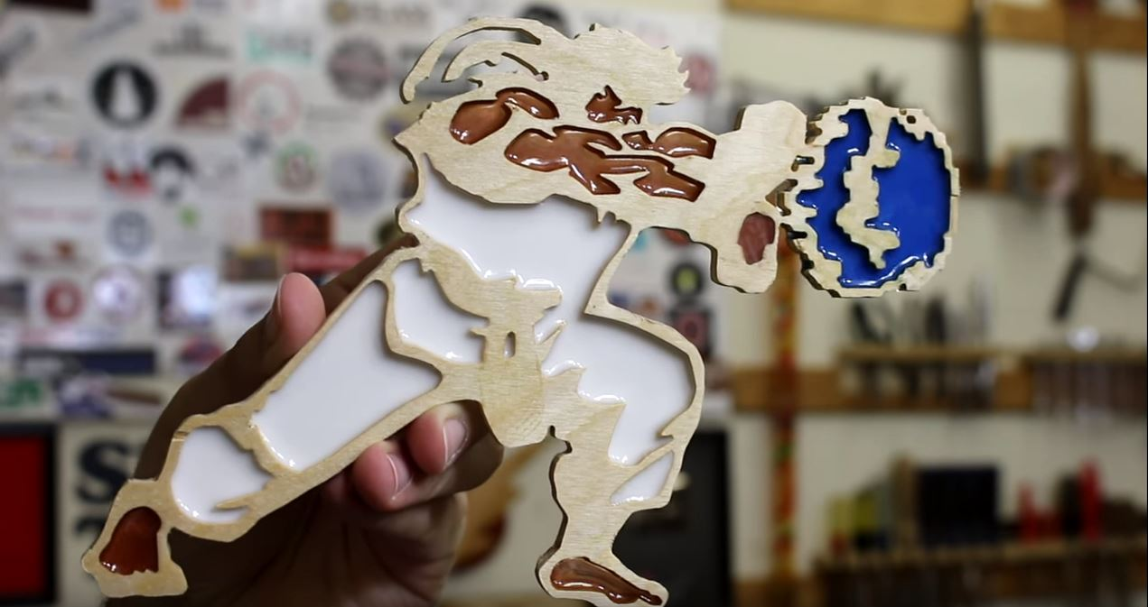 Video: Using Resin to Make Faux Stained Glass