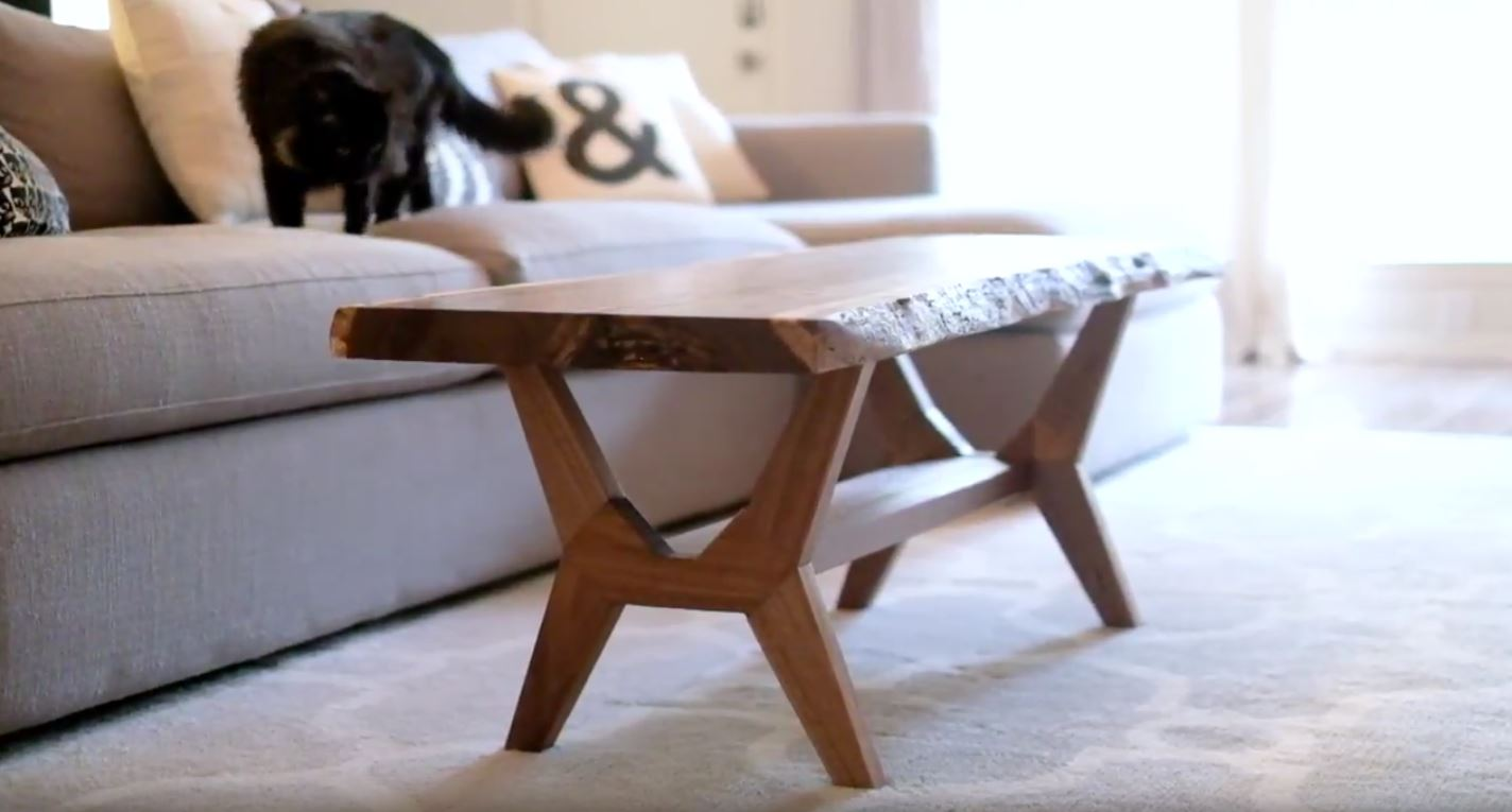 Craft a Flatpack Slab Table with Evan and Katelyn