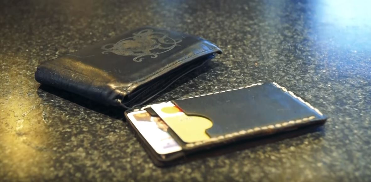 Stitch Together A Simple Uber Slim Leather Wallet