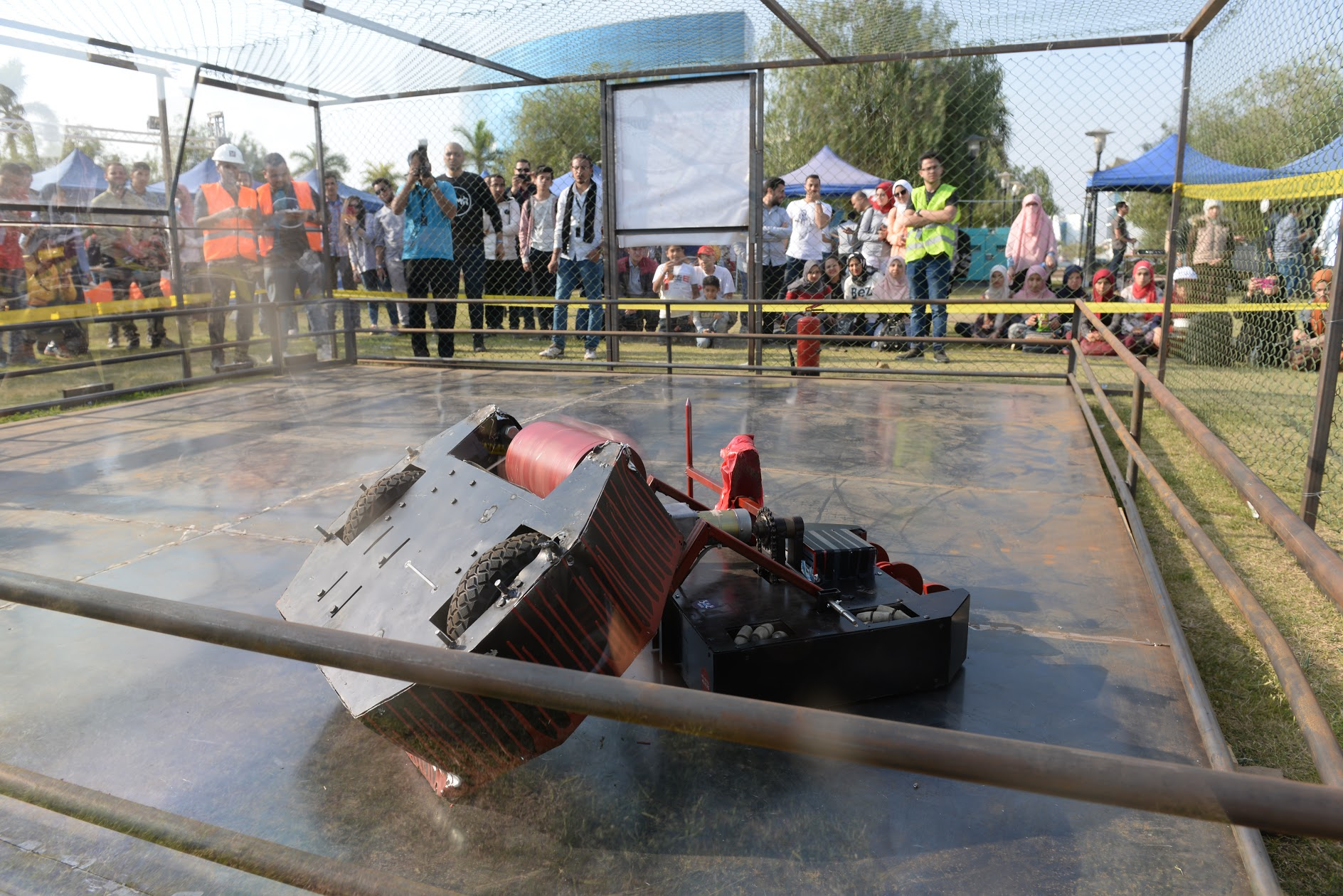 Maker Faire Cairo Brings History, Youth, and Battling Bots