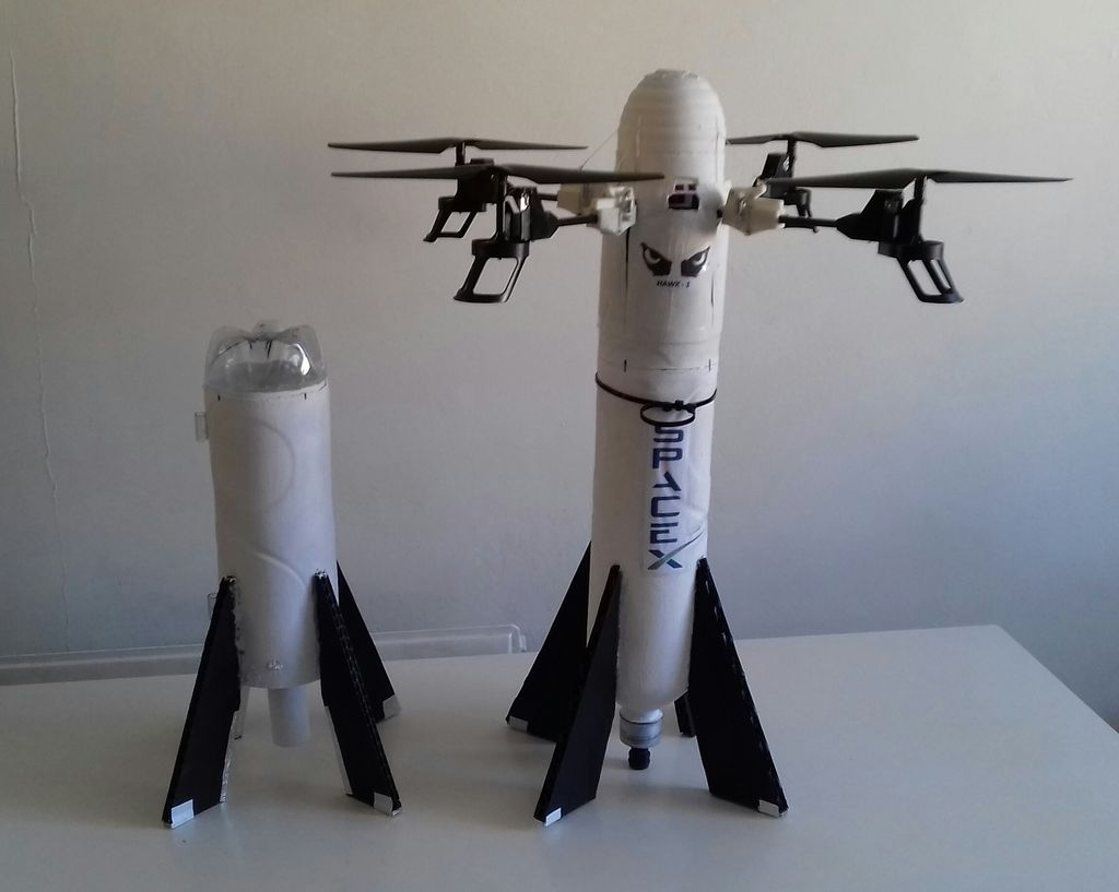 This Drone Rocket Hybrid Can Land Vertically