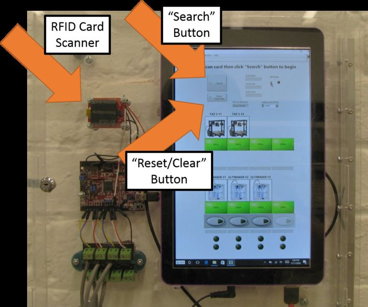 Open Source RFID System Keeps Untrained Members Off Dangerous Machines